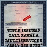 LICENSED VEHICLE TITLE SERVICE in Kingwood, Texas
