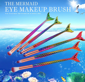 Colorful Mermaid Eye Makeup Brushes in Fort Campbell, Kentucky
