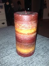 Red Pier One Candle in Naperville, Illinois