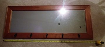 Rectangle Wall Mirror with Hooks in Fort Meade, Maryland