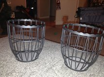 Metal Candle Baskets in Naperville, Illinois