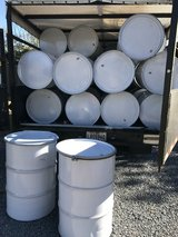 55 Gallon Metal Drums w/Removable Lid in Fort Polk, Louisiana