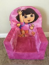Dora the Explorer foam chair in Conroe, Texas