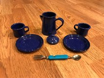 Pleasant Company AMERICAN GIRL TODAY CAMPING UTENSILS And PLATES in Glendale Heights, Illinois