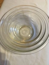 3 Pyrex Mixing Bowls in Clarksville, Tennessee