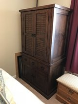 Hardwood tv cabinet in Fort Knox, Kentucky