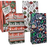 "SET OF 12 Giant Christmas Gift Bags with Handles 20"" Tall (THESE ARE  PERFECT FOR BOARD GAMES) in Fort Campbell, Kentucky"