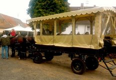 16 Person Planwagon (Covered Wagon) in Ramstein, Germany