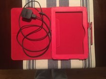 Kindle Tablet leather case, Amazon Rapid Charger and Stylus ALL for $20.00 in Fort Carson, Colorado