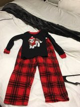 Toddler Boy Christmas Pjs Size 4t in Joliet, Illinois