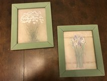Reduced: 2 Floral Pictures in Joliet, Illinois