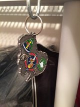 MRF-D military challenge coin keychains in 29 Palms, California