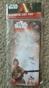 Star Wars Magnetic List Pad in Yorkville, Illinois