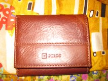 Men's Chaps Brown Tri-fold Wallet in Joliet, Illinois