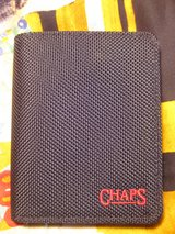 Men's Chaps Canvas Bi-Fold Wallet-Black in Joliet, Illinois