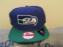 "SEATTLE SEAHAWKS New Era Historic ""OLD SCHOOL"" Logo Snapback Adjustable Hat *** NEW *** in Tacoma, Washington"