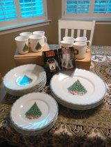 Christmas dishes in Norfolk, Virginia