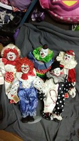 Circus Parade Clown Collection in Cherry Point, North Carolina