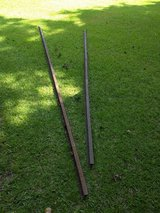 Vintage Crane Rail (railroad track) in Camp Lejeune, North Carolina