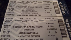 Cole Swindell Concert  Caushatta  Casino Pavilion in Fort Polk, Louisiana