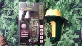 Rechargeable Flashlight 15 LED in Byron, Georgia