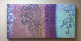 Canvas wall painting artwork rectangle in Oswego, Illinois