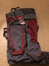 Gray and Orange Hiking Back Pack in Hemet, California