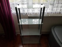 4 shelf shelving unit / display glass in Tampa, Florida