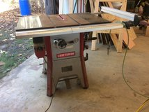 Craftsman table saw in Fort Polk, Louisiana