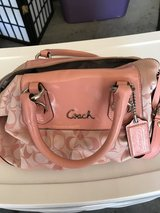 Pink coach purse in Fort Irwin, California
