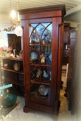 beautiful mahagony display cabinet in Spangdahlem, Germany