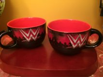 Wrestling soup/cereal mugs bowls in Plainfield, Illinois
