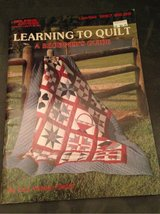 Learning to Quilt A Beginner's Guide in Lockport, Illinois
