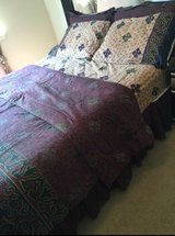King size comforter set in The Woodlands, Texas