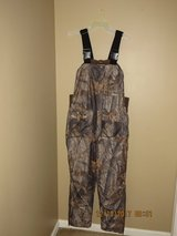 REMINGTON Bib Overalls Thermal Hunting Camo Realtree Hardwoods Men's Large in Glendale Heights, Illinois