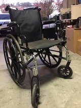 Wheel chair in Travis AFB, California