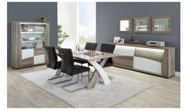 United Furniture - Kasimir Dining Set - Table Legs on the End including delivery in Spangdahlem, Germany