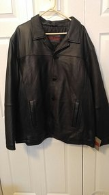 Men's Excelled 4x leather button front coat in Plainfield, Illinois