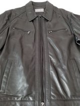 NEW MICHAEL KORS LEATHER JACKET in Lockport, Illinois