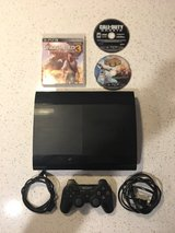 PlayStation 3 w/ games in Wilmington, North Carolina