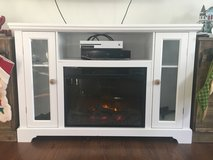 Tv stand with fireplace. in Quantico, Virginia