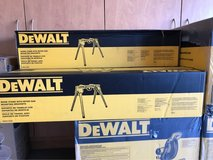 Dewalt Double Bevel Compound Miter Saw with Stand in Camp Pendleton, California