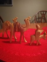 Olive Wood carved Camels and donkey in Naperville, Illinois