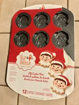Wilton Elf on the Shelf Non-Stick Elf Cookie Pan 12 Christmas Cookies in Fairfield, California
