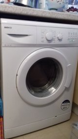 Wash machine in Lakenheath, UK