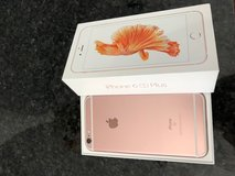 Iphone 6S plus 64 GB, unlocked, Rose gold ready to be used, without a sngle scrach, just like ne... in Naperville, Illinois
