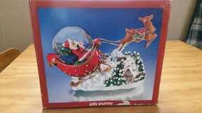 Musical snowglobe.nib. With back an forth motion in Fort Leavenworth, Kansas