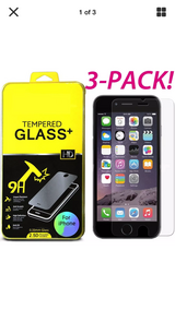 iPhone 7/7sPlus,6/6s Plus New screen protector TEMPERED GLASS - $3 in Tinley Park, Illinois