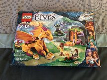 New LEGO Elves Fire Dragon's Lava Cave Set 41175 in 29 Palms, California
