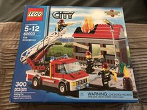 New Retired LEGO City Fire Emergency Set 60003 in 29 Palms, California